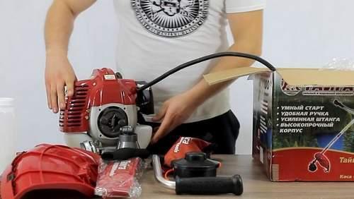 Бензиновый Триммер Тайга Бг 2 4300 Видео