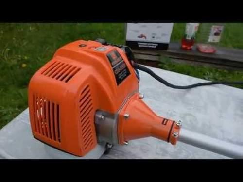 Бензокоса Carver Gbc 043 Видео
