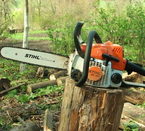 Бензопила Stihl Ms 180 Review