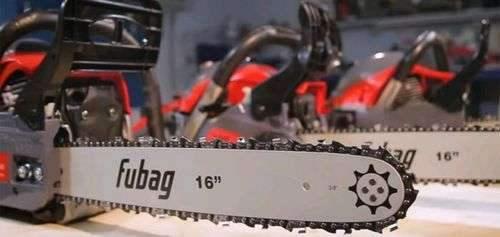 Как измерить длину шины бензопилой