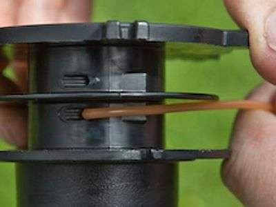 Как намотать леску на катушку триммера Makita