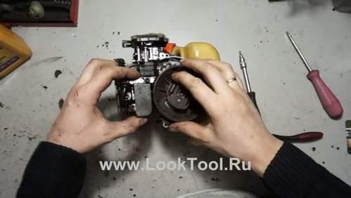 Как Отрегулировать Зажигание На Двухтактном Двигателе Триммера