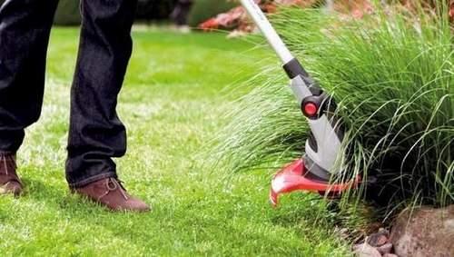 Как Пользоваться Триммером Для Травы С Леской
