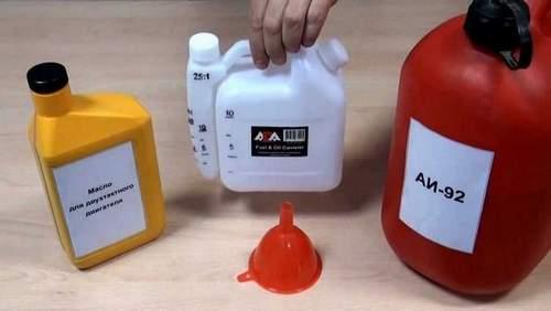 Как Правильно Разбавлять Бензин Для Бензопилы