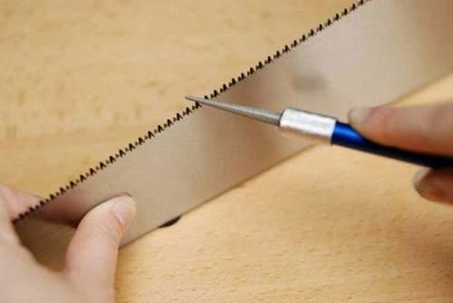 Как Правильно Точить Ножовку По Дереву Напильником