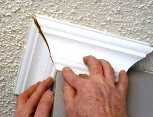 Как Резать Плинтуса На Потолок Стуслом
