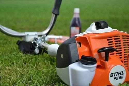 Как заправить газонокосилку Stihl