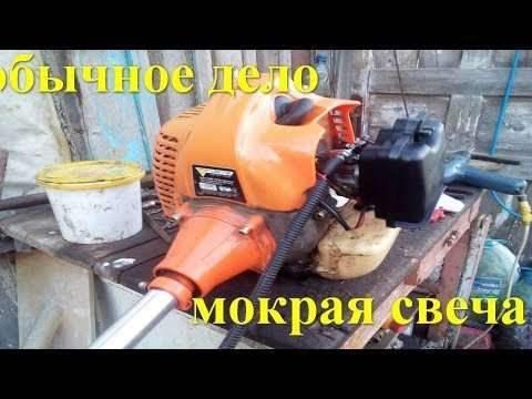 Триммер карбюраторный не прокачивает бензин