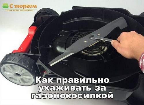 Надо Ли Точить Новый Нож Для Газонокосилки