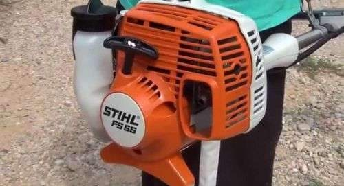 Регулировка триммера Stihl Fs 55