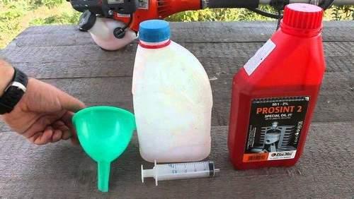 Сколько Масла Добавлять В Бензин Для Бензокосы
