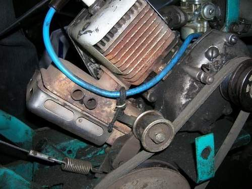 Замена Двигателя На Мотоблоке Крот На Импортный