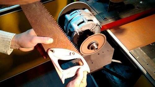 Как Заточить Ножовку Напильником