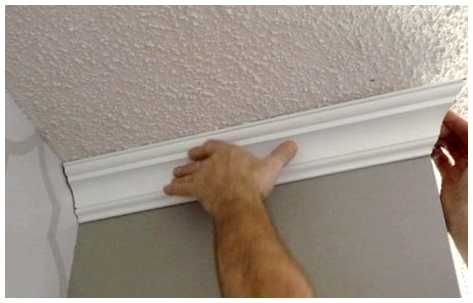 Как Резать Плинтуса На Потолок