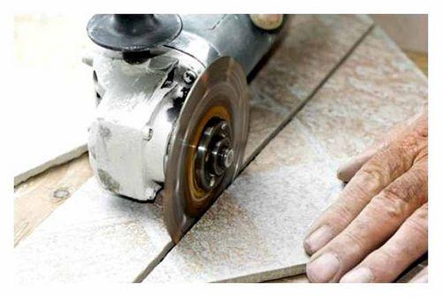 Как Правильно Резать Керамическую Плитку Болгаркой