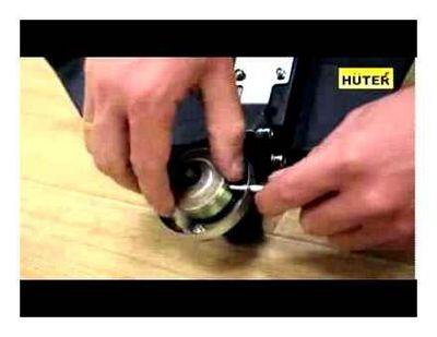 как поставить нож на триммер вместо лески